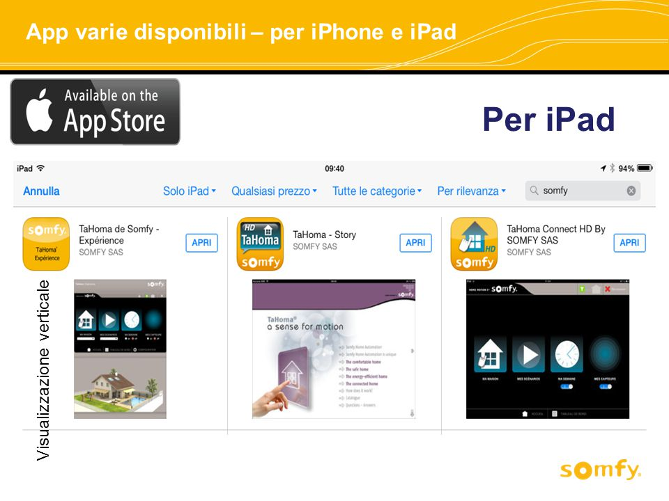 Per iPad App varie disponibili – per iPhone e iPad
