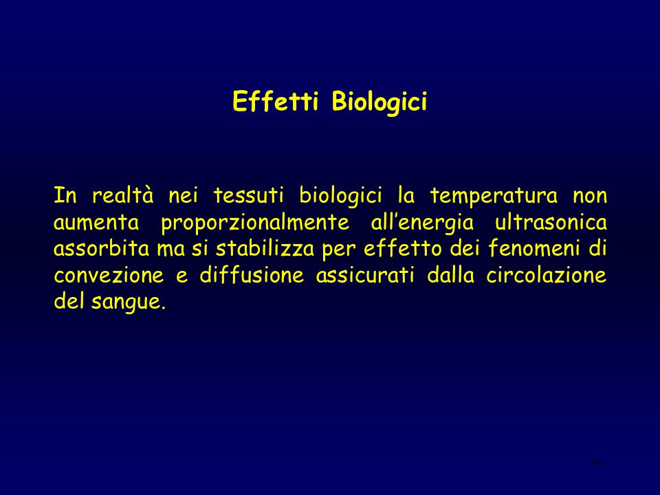 Effetti Biologici