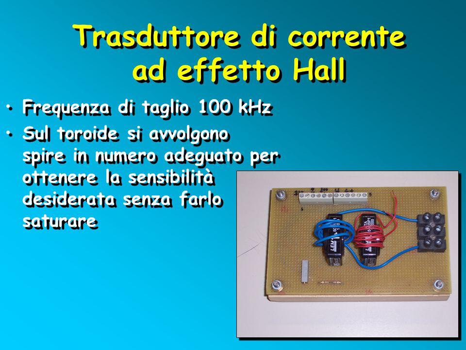 Trasduttore di corrente ad effetto Hall