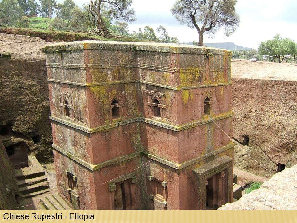 Chiese Rupestri - Etiopia