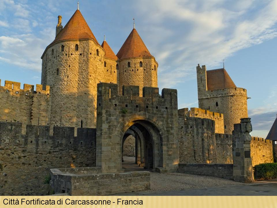 Città Fortificata di Carcassonne - Francia