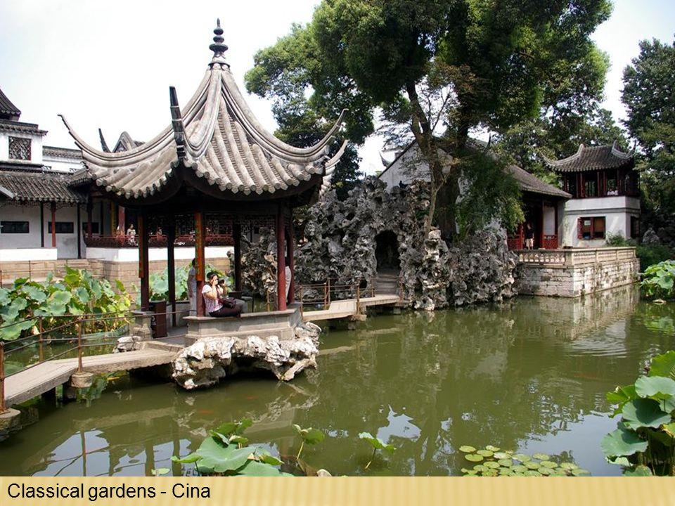 Classical gardens - Cina