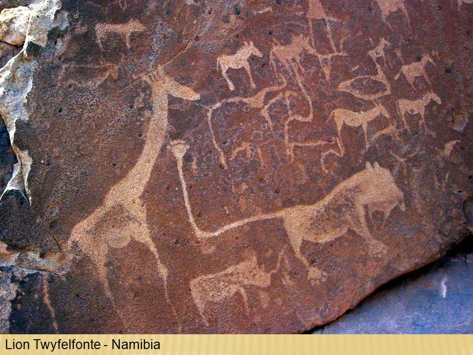 Lion Twyfelfonte - Namibia