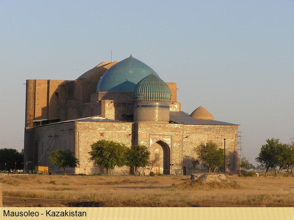 Mausoleo - Kazakistan
