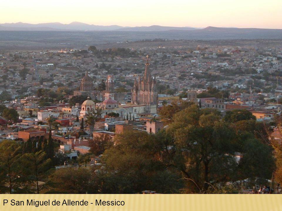 P San Miguel de Allende - Messico