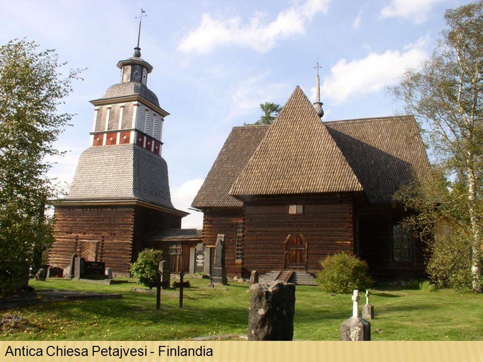 Antica Chiesa Petajvesi - Finlandia