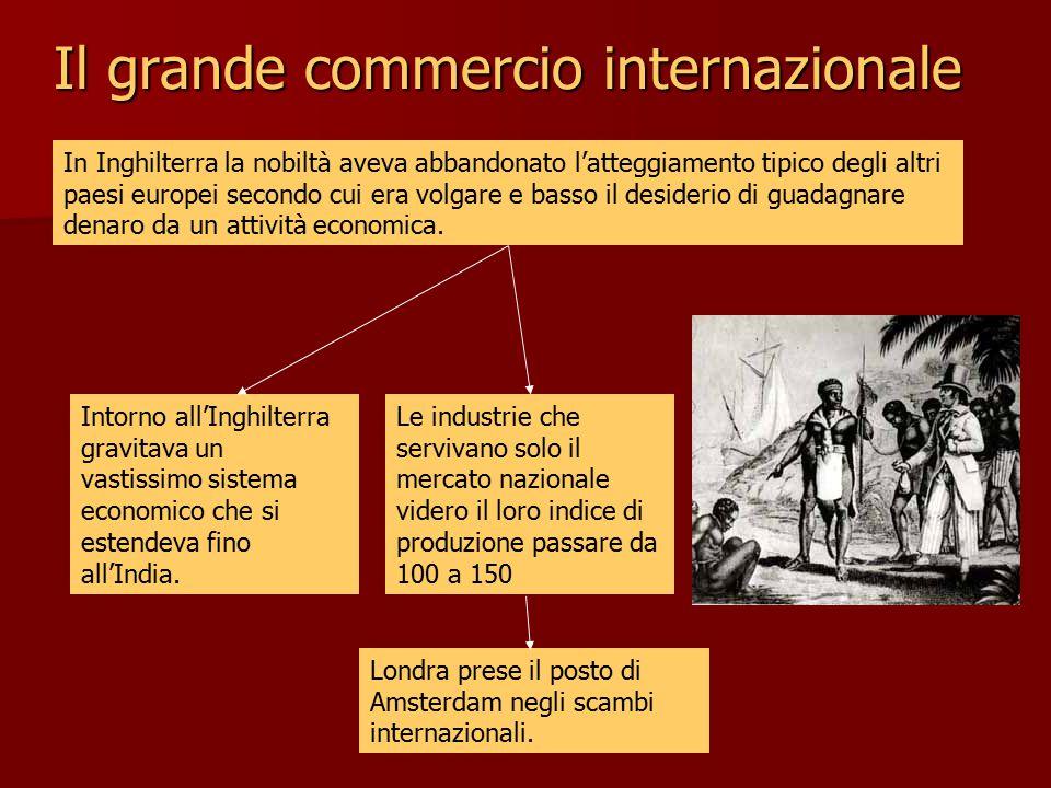 Il grande commercio internazionale