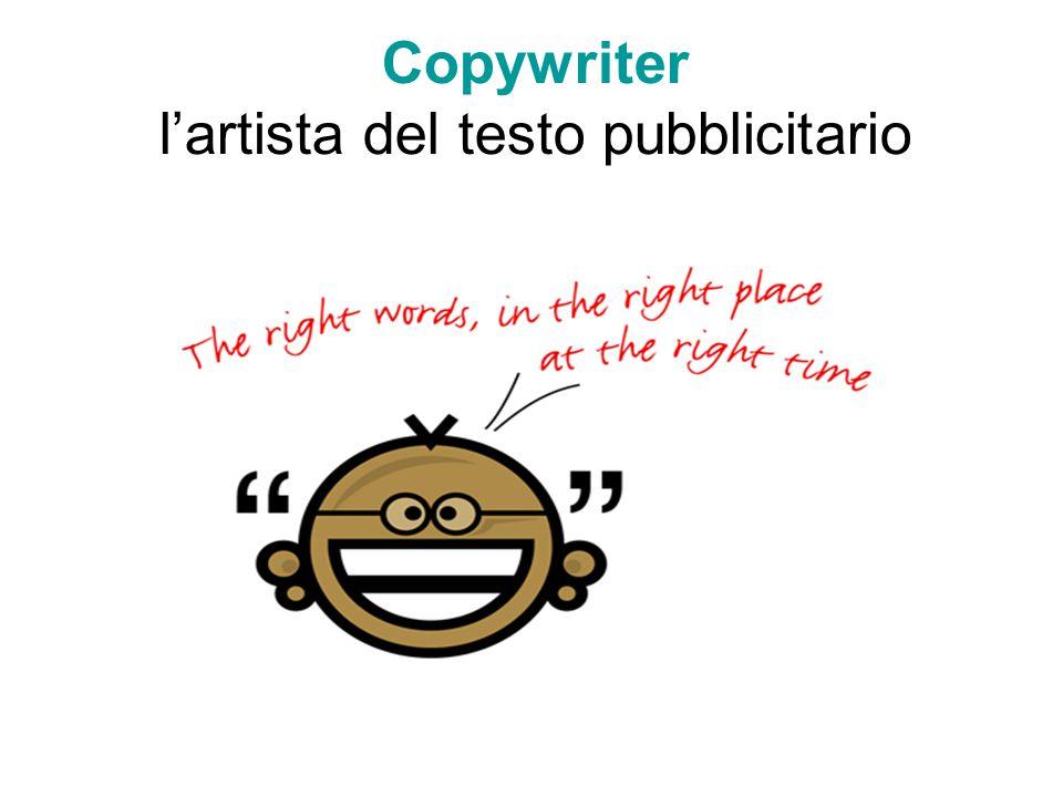 Copywriter l'artista del testo pubblicitario
