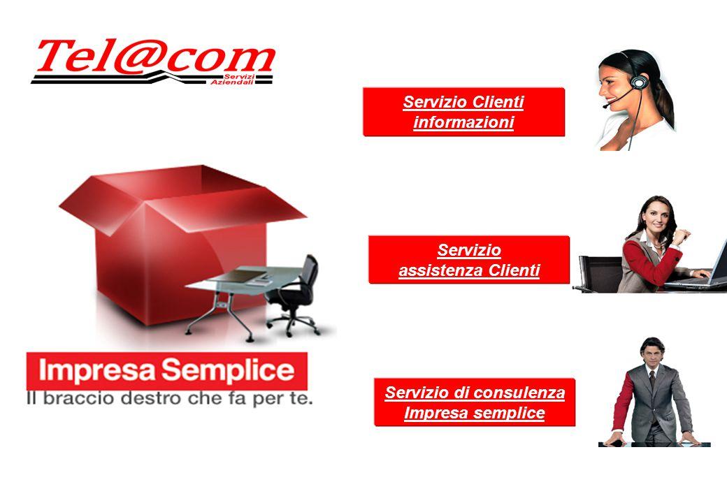 Servizio Clienti informazioni Servizio di consulenza Impresa semplice