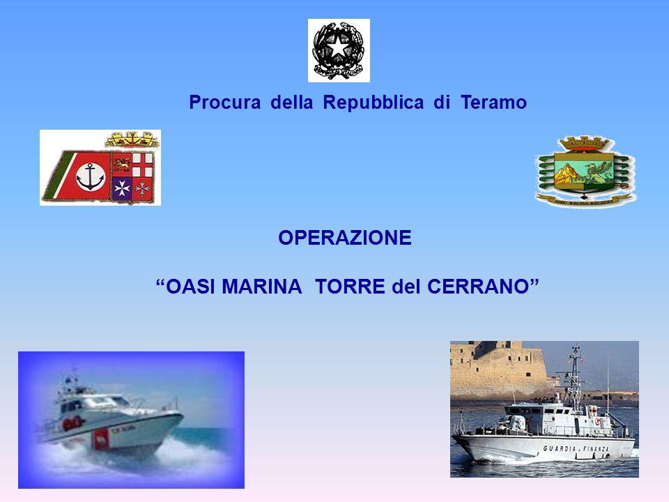 OPERAZIONE OASI MARINA TORRE del CERRANO