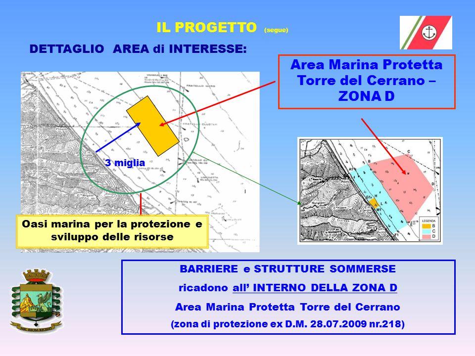 Oasi marina per la protezione e sviluppo delle risorse