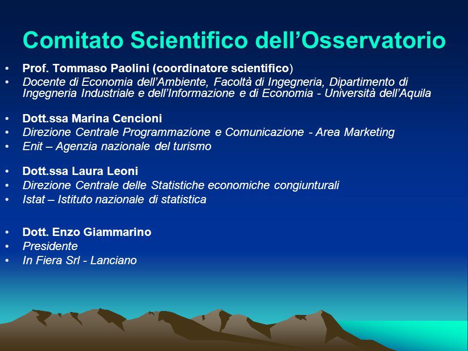 Comitato Scientifico dell'Osservatorio