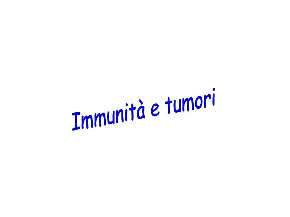 Immunità e tumori