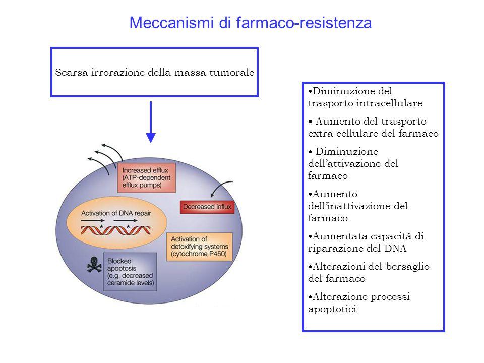 Meccanismi di farmaco-resistenza