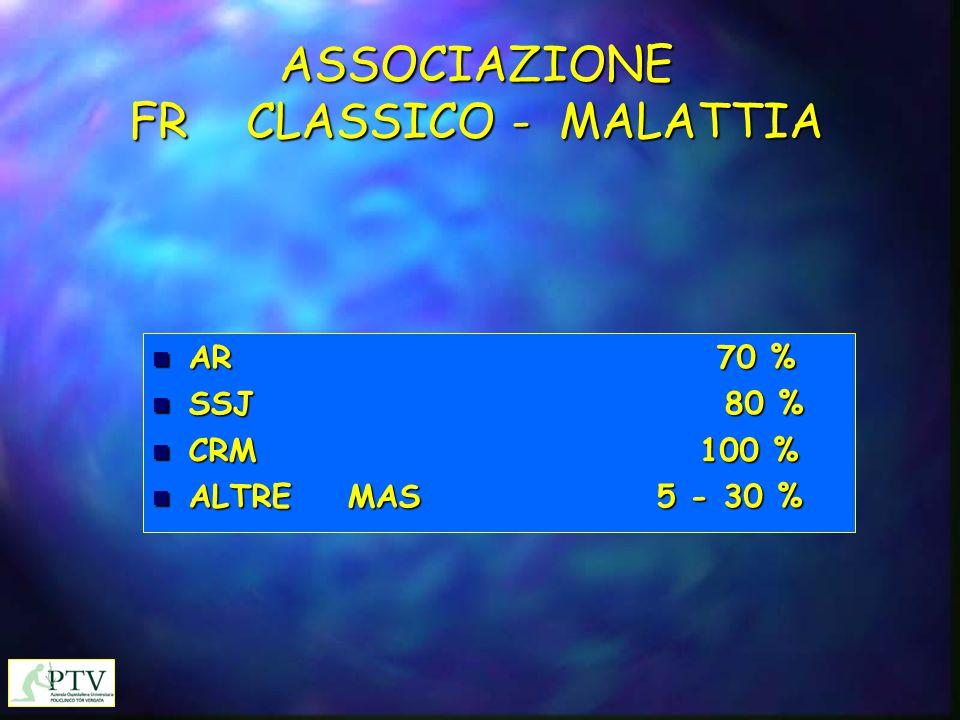 ASSOCIAZIONE FR CLASSICO - MALATTIA