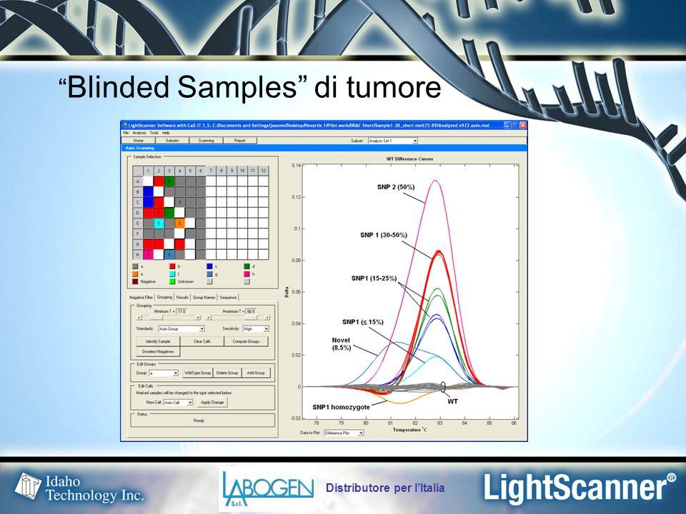 Blinded Samples di tumore