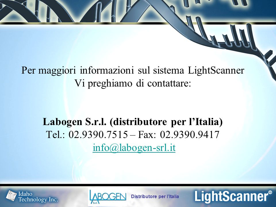 Labogen S.r.l. (distributore per l'Italia)