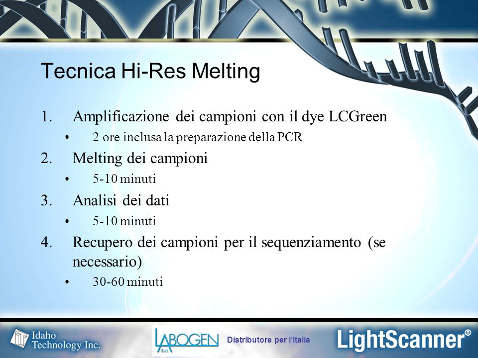 Tecnica Hi-Res Melting