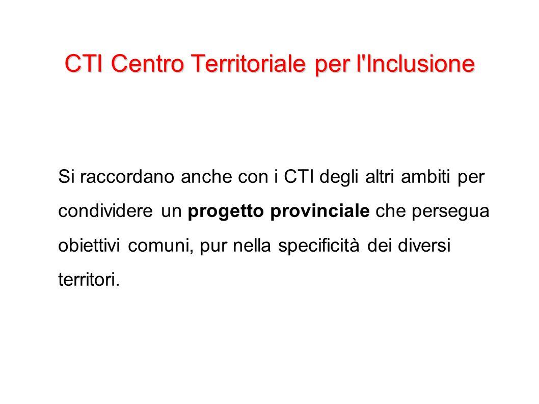 CTI Centro Territoriale per l Inclusione
