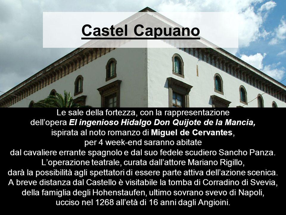 Castel Capuano Le sale della fortezza, con la rappresentazione