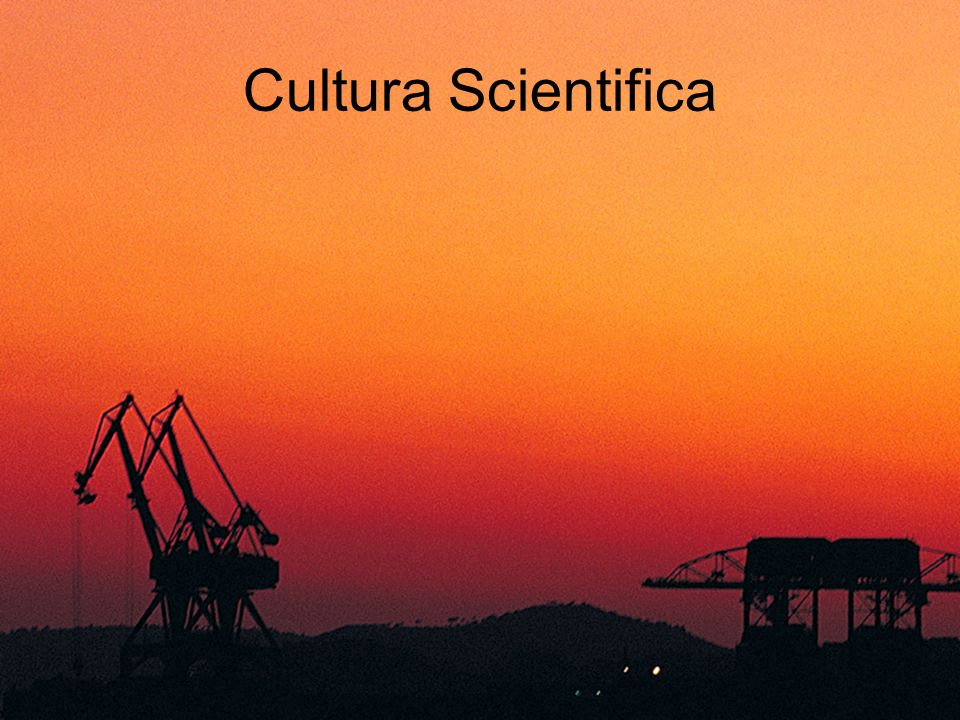 Cultura Scientifica