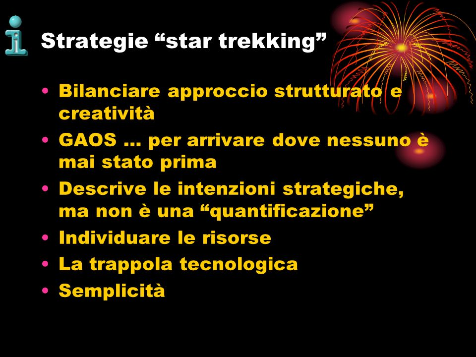 Strategie star trekking