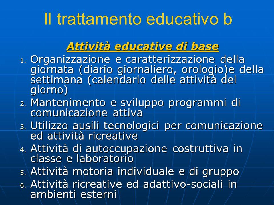 Il trattamento educativo b