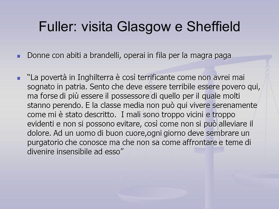 Fuller: visita Glasgow e Sheffield