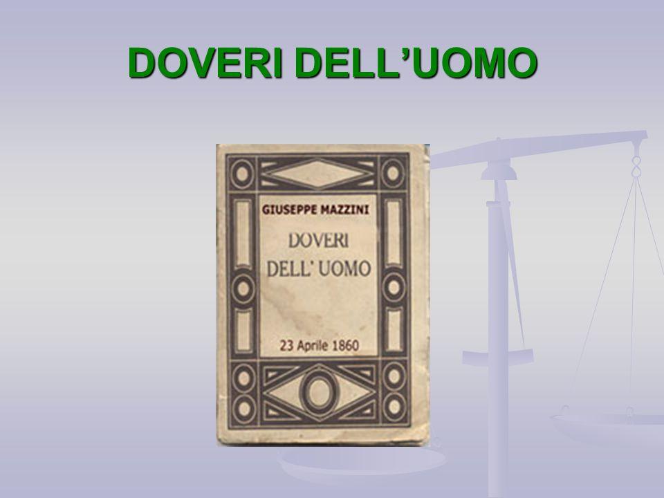 DOVERI DELL'UOMO