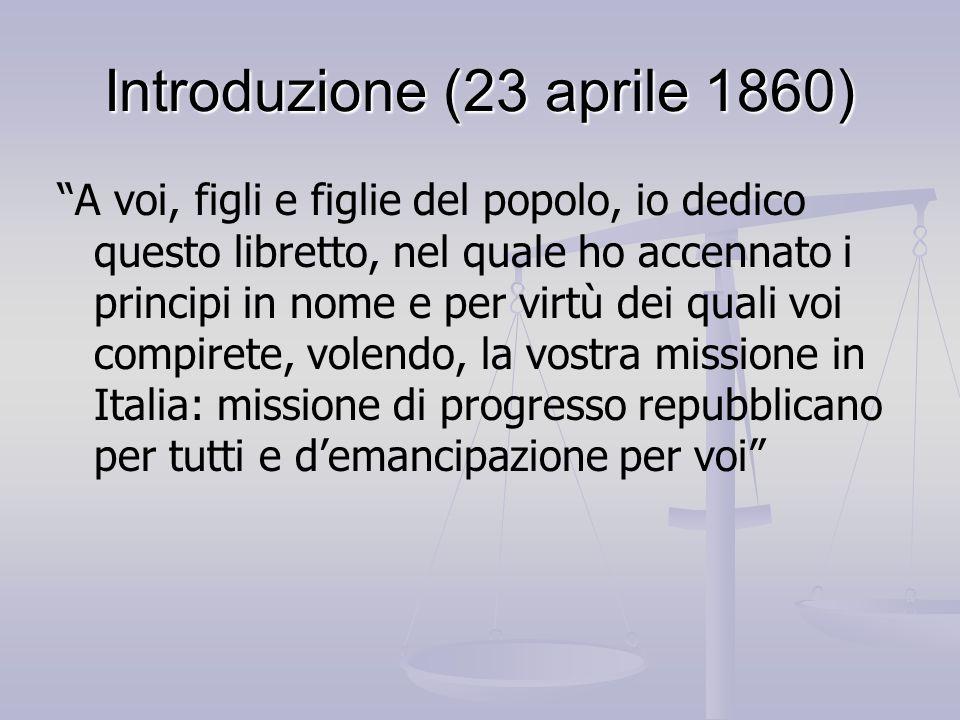 Introduzione (23 aprile 1860)
