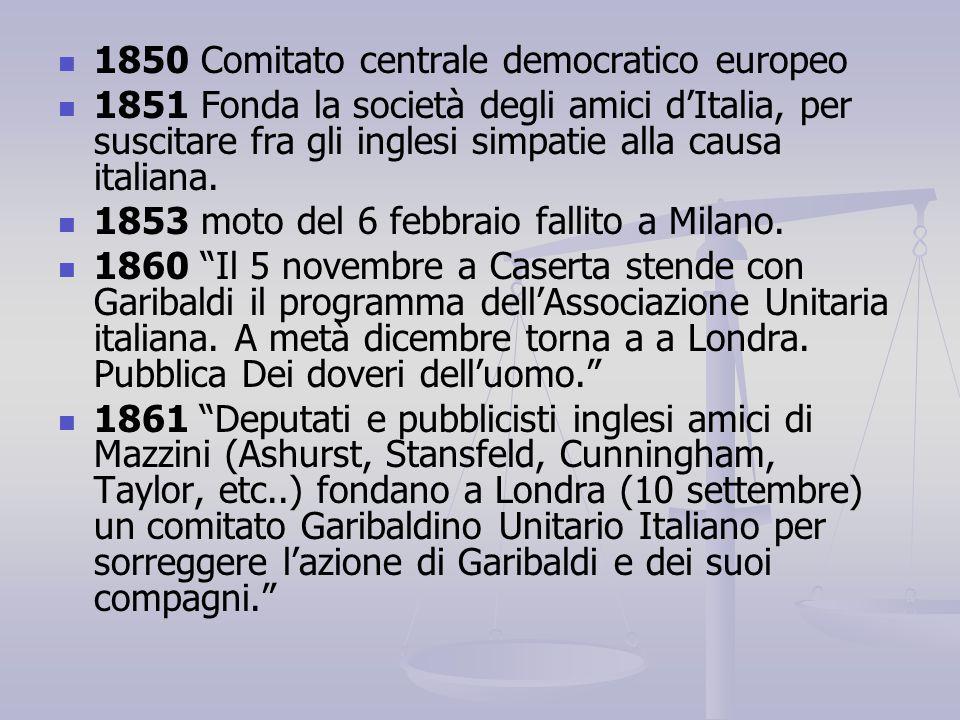 1850 Comitato centrale democratico europeo