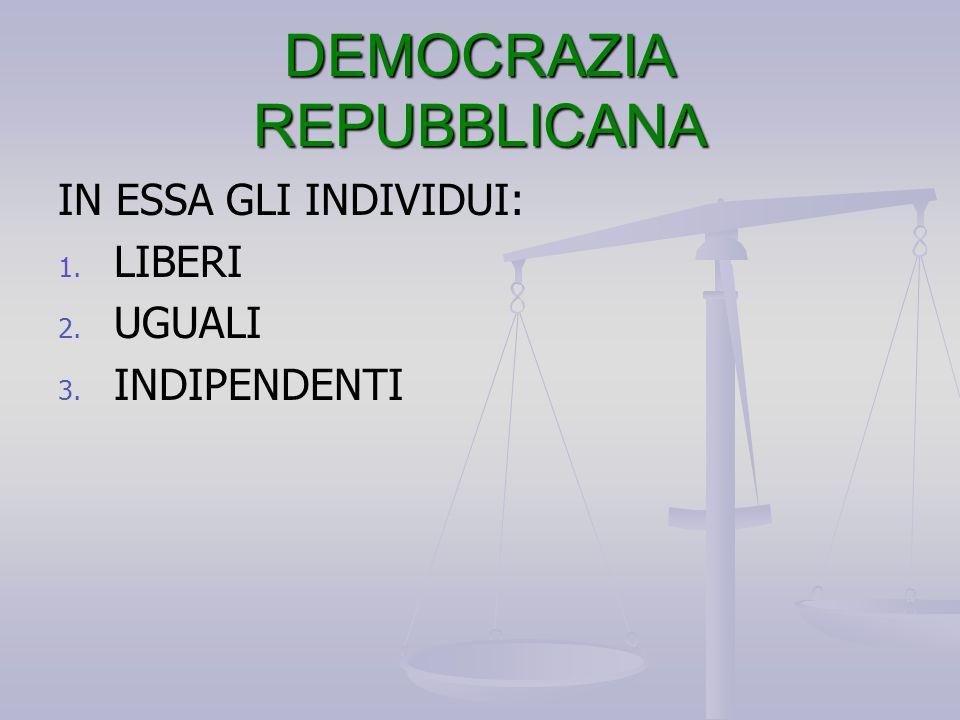DEMOCRAZIA REPUBBLICANA