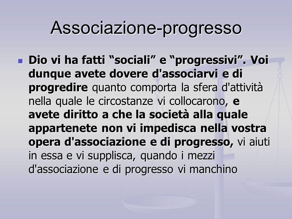 Associazione-progresso