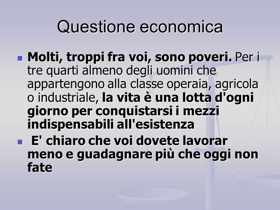 Questione economica