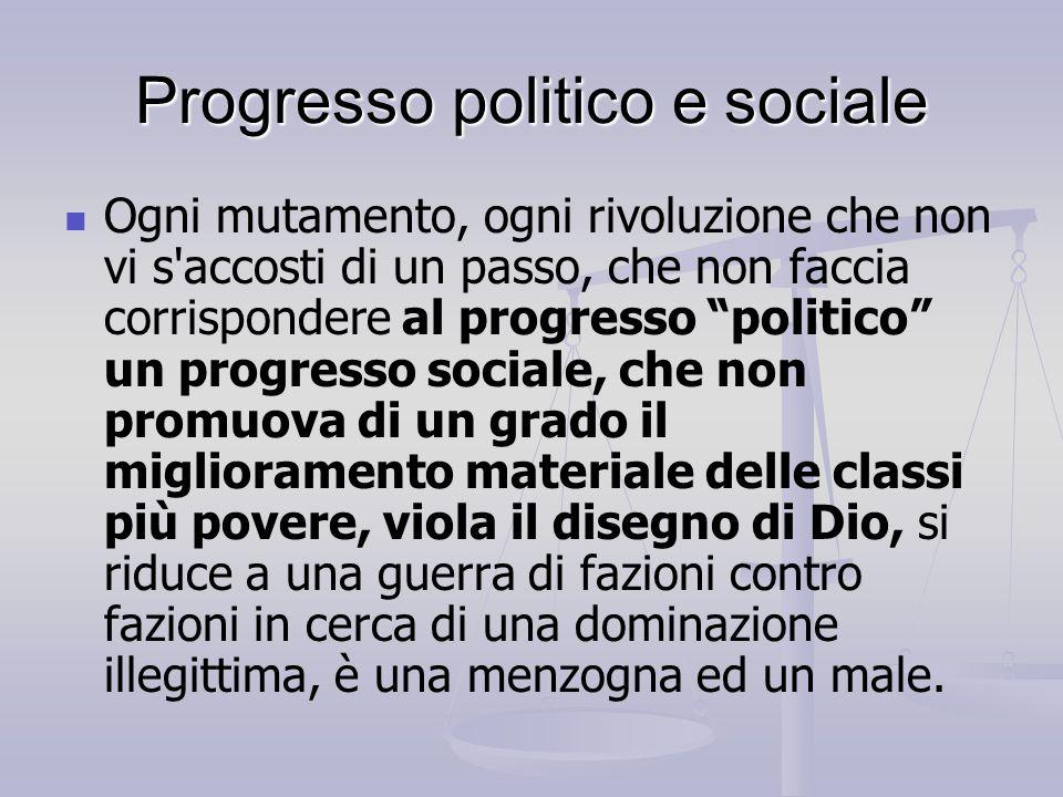 Progresso politico e sociale