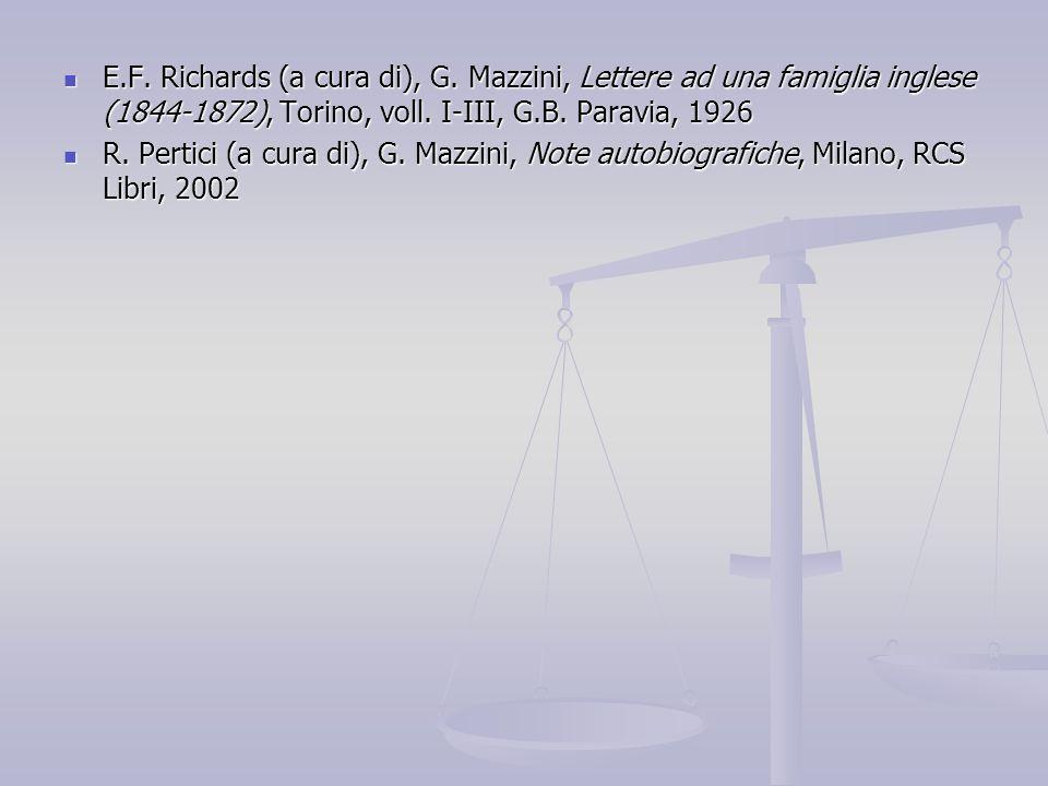 E. F. Richards (a cura di), G