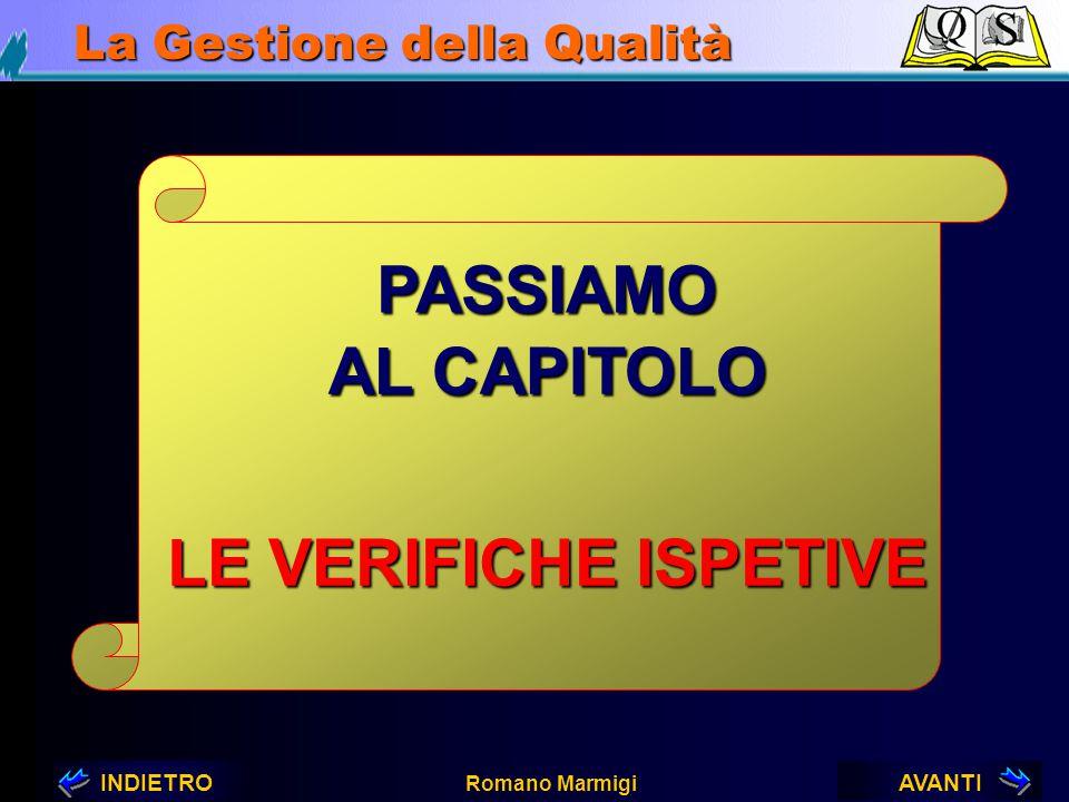 PASSIAMO AL CAPITOLO LE VERIFICHE ISPETIVE