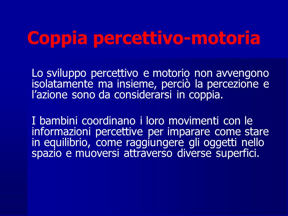 Coppia percettivo-motoria