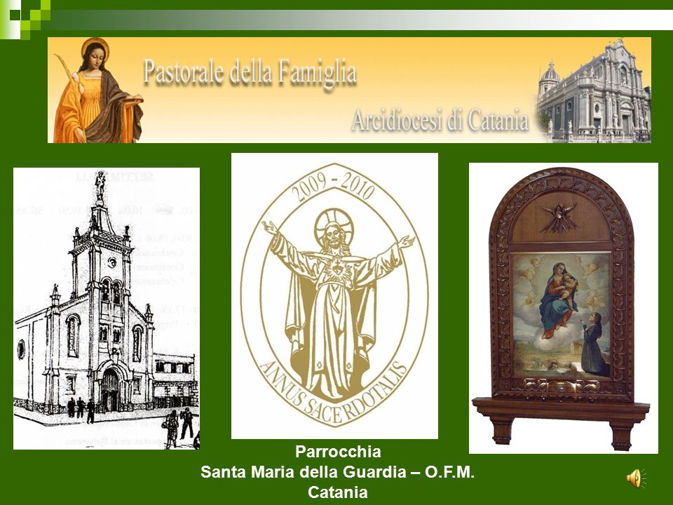 Santa Maria della Guardia – O.F.M.