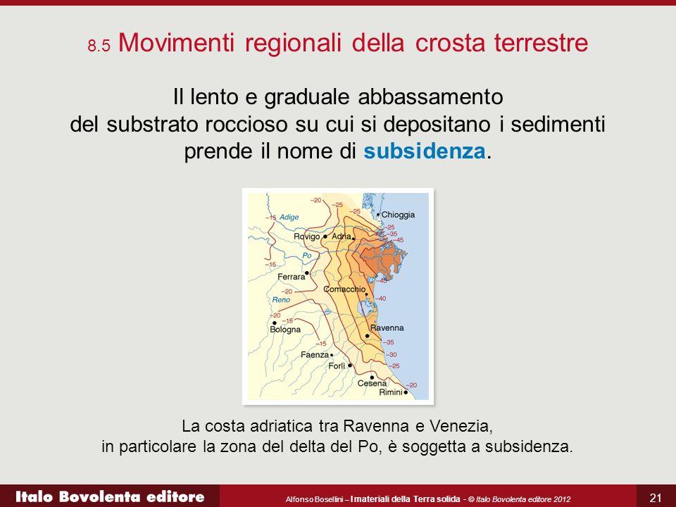 8.5 Movimenti regionali della crosta terrestre