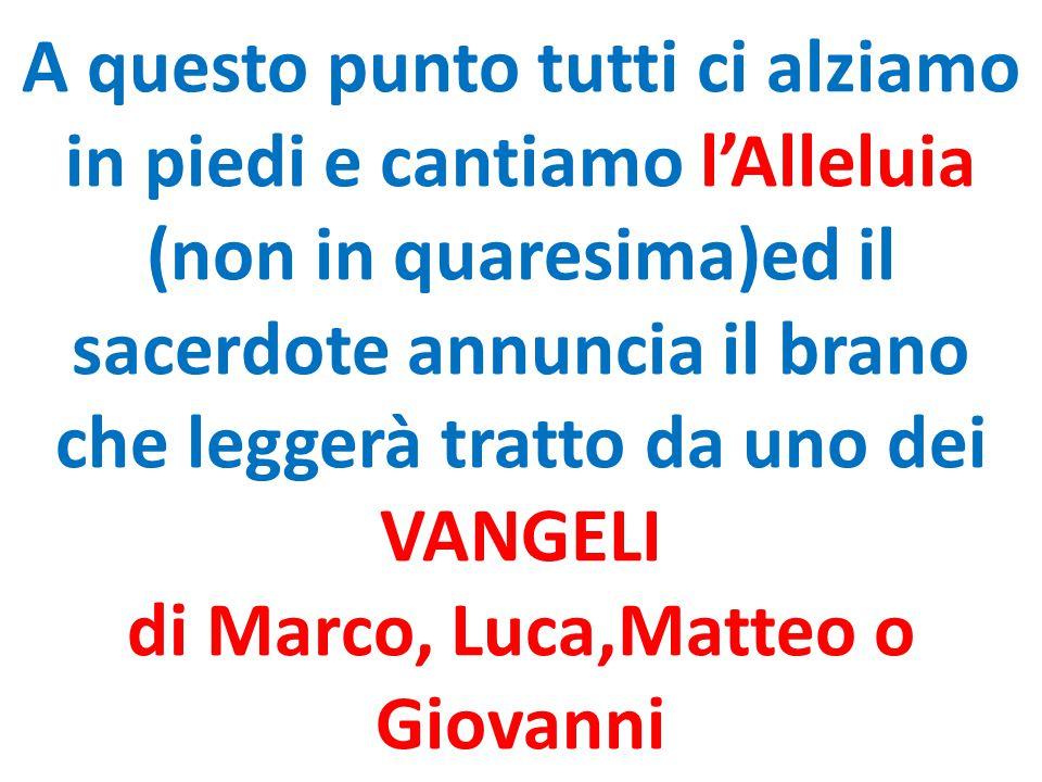 di Marco, Luca,Matteo o Giovanni