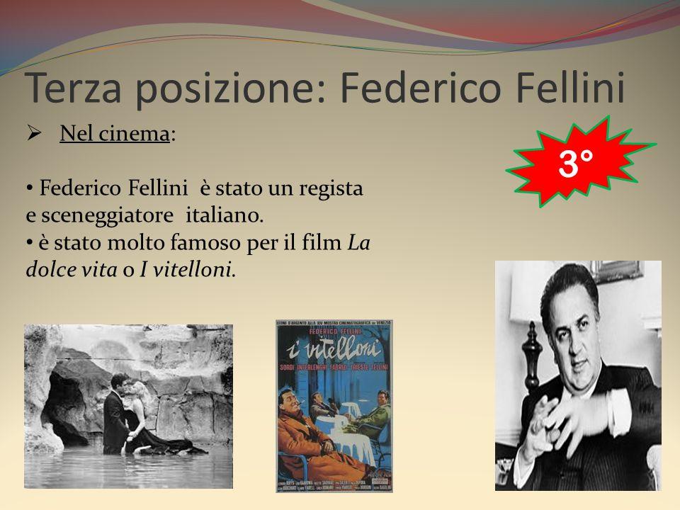 Terza posizione: Federico Fellini