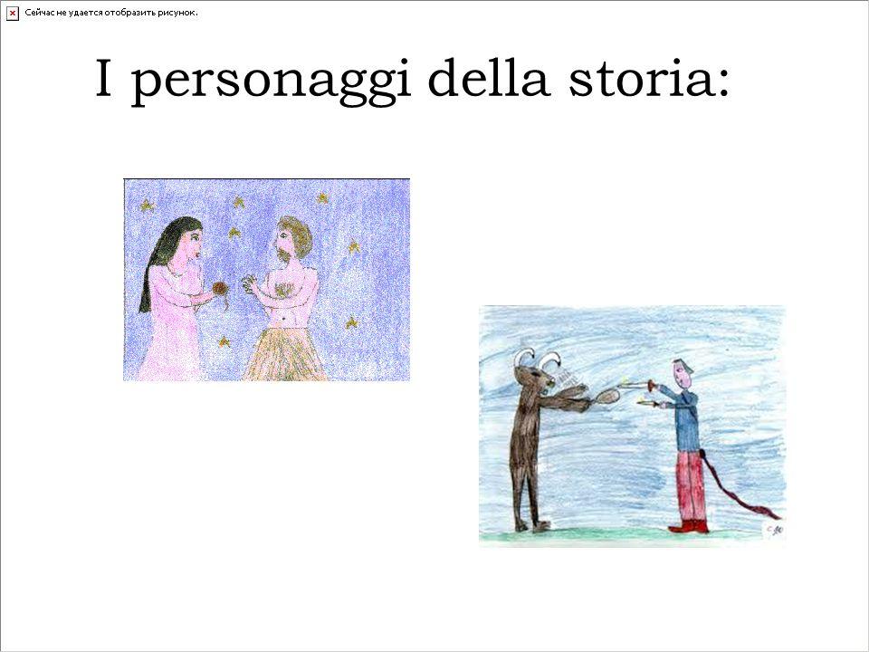 I personaggi della storia: