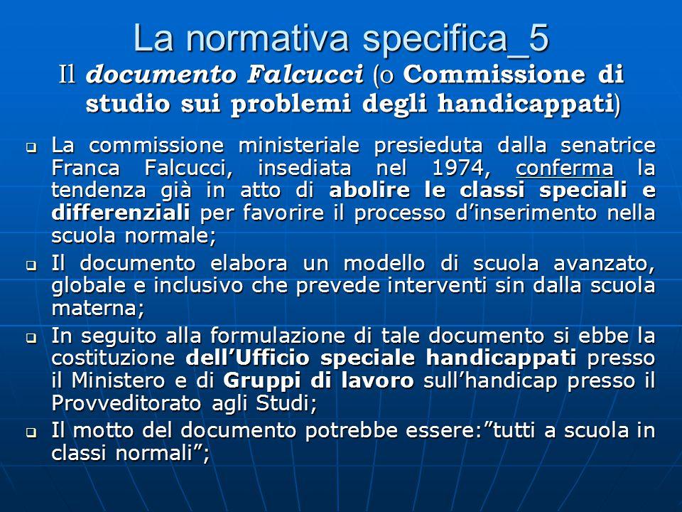 La normativa specifica_5