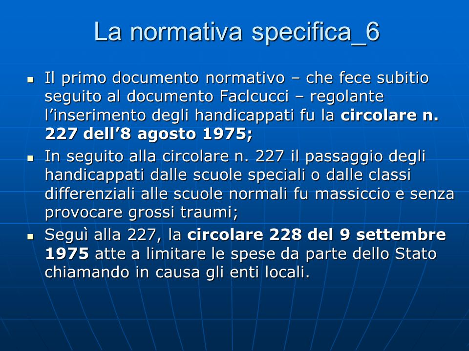 La normativa specifica_6