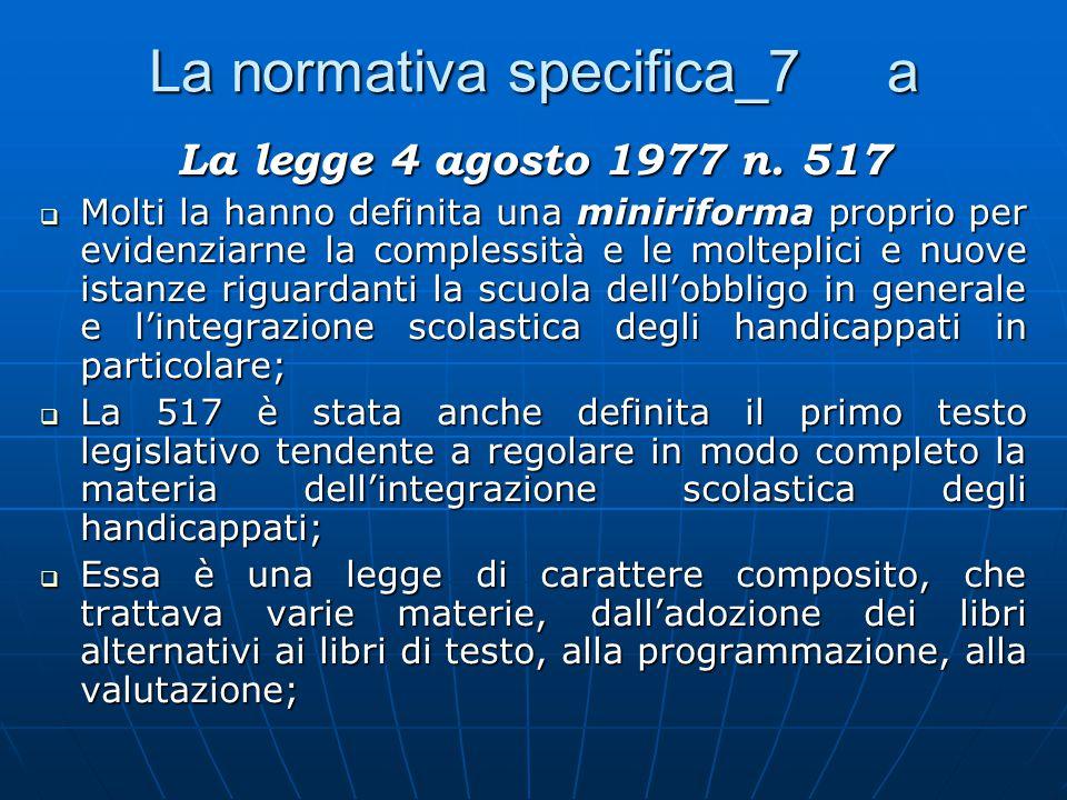 La normativa specifica_7 a