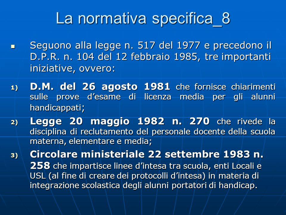 La normativa specifica_8
