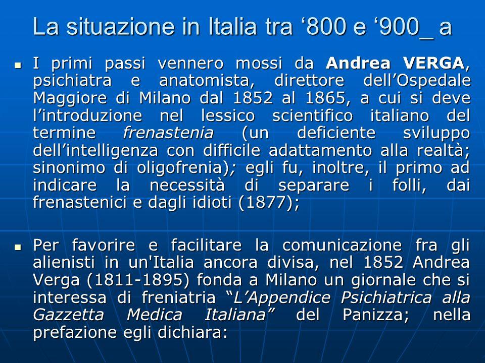 La situazione in Italia tra '800 e '900_ a