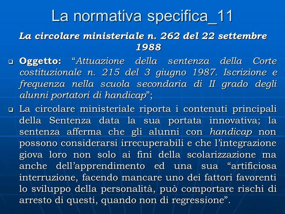 La normativa specifica_11