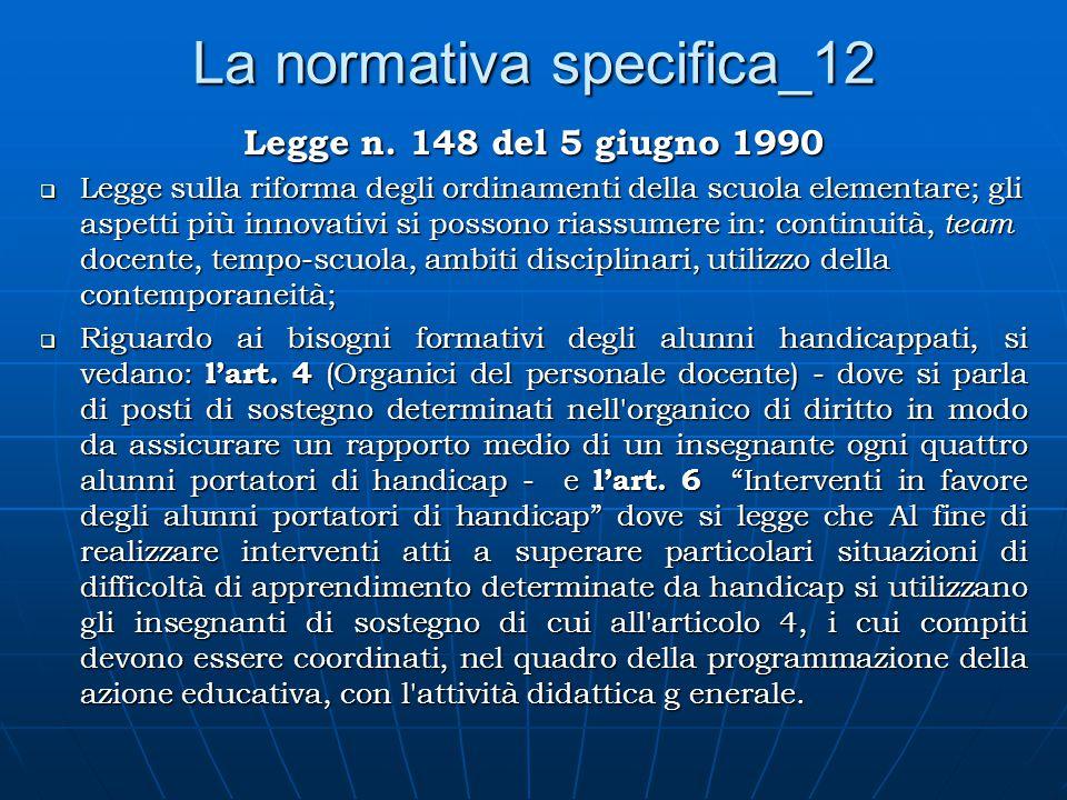 La normativa specifica_12